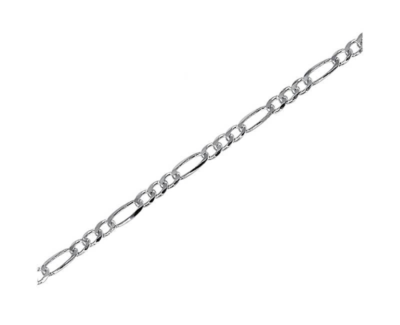 2b951b339 Brilio Silver Strieborná retiazka Figaro 42 cm 471 086 00159 04 - 3,90 g