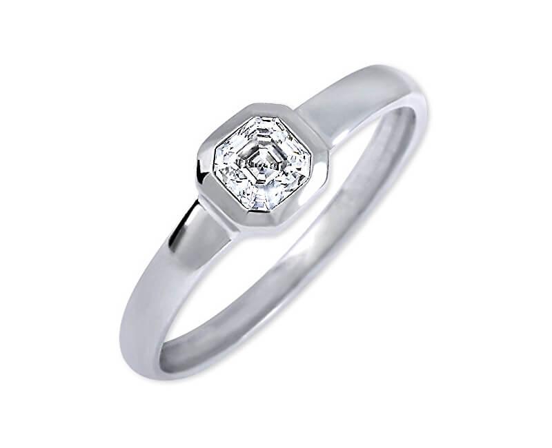 Brilio Silver Stříbrný zásnubní prsten 426 001 00509 04 - 1,27 g