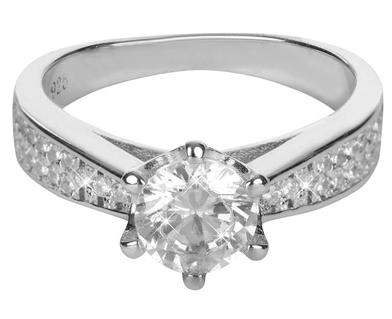 Brilio Silver Stříbrný zásnubní prsten 426 158 00081 - 4,05 g