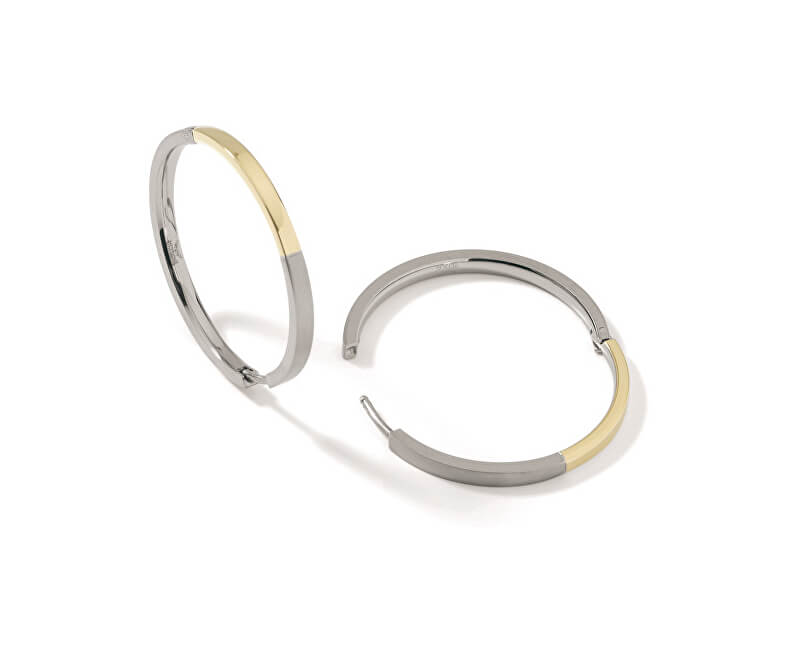 8d7b101f5 Boccia Titanium Pozlacené titanové kruhy 0516-02 Doprava ZDARMA ...