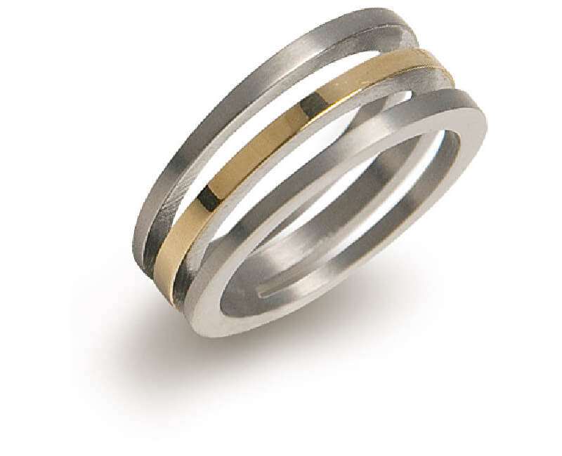 Boccia Titanium Pozlacený titanový prsten 0128-02 Doprava ZDARMA ... 1d4ceda5a2f