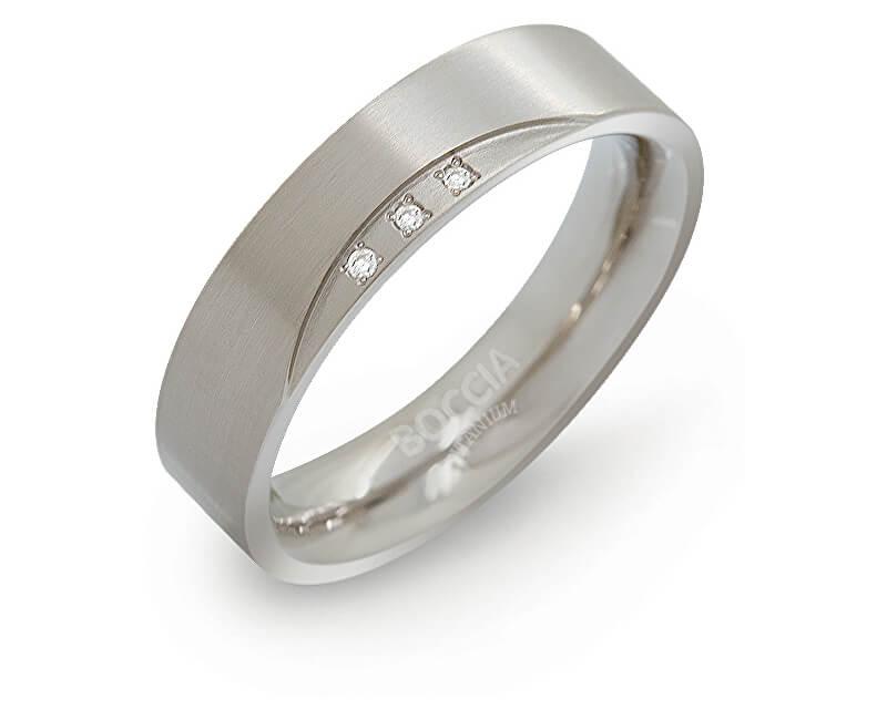 Boccia Titanium Titanovy Snubni Prsten S Diamanty 0138 02 Doprava