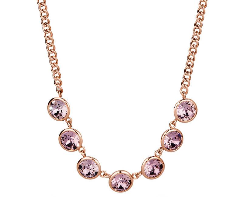 933096991 Brosway Ocelový náhrdelník s krystaly Swarovski N-Tring BTN31 ...