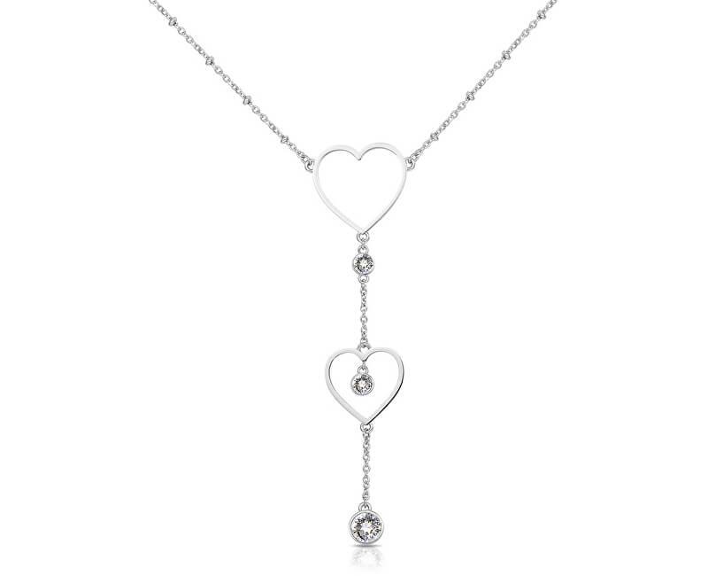 Brosway Srdíčkový ocelový náhrdelník Sight BGH01