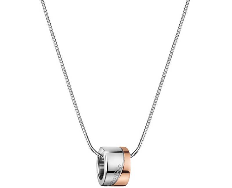 Calvin Klein Bicolor náhrdelník Hook KJ06PN200100