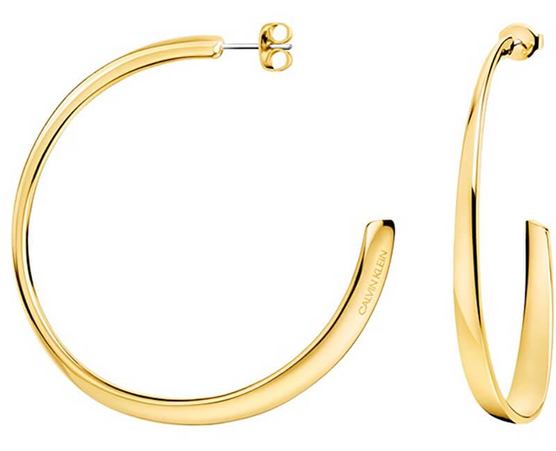 Calvin Klein Cercei rotunde de lux Groovy KJ8QJE100100
