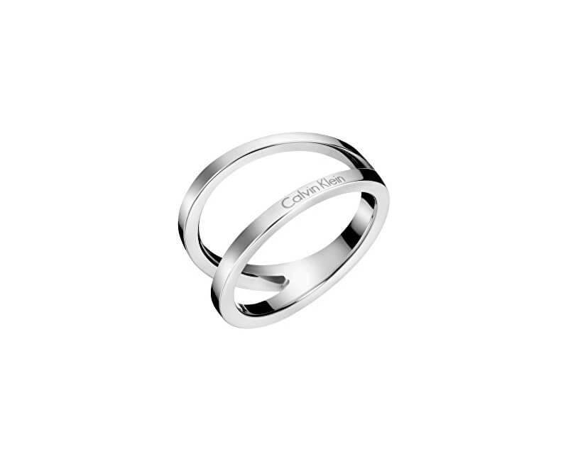 Calvin Klein Luxusní ocelový prsten Outline KJ6VMR0001