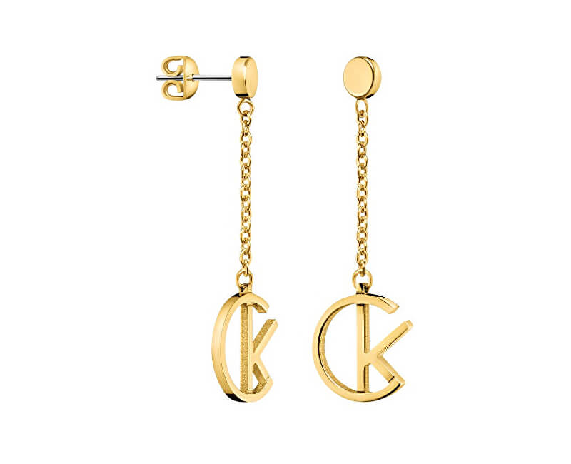 Calvin Klein Luxusné pozlátené náušnice League KJ6DJE100100 Doprava ... ecddf979c19