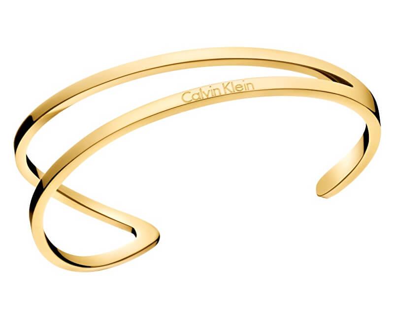 Calvin Klein Luxusné pozlátený náramok Outline KJ6VJF1001