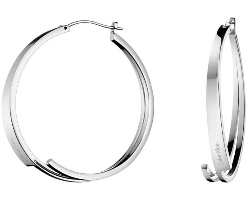 3cc3bf9dc Calvin Klein Oceľové náušnice kruhy Beyond KJ3UME000100 Doprava ...