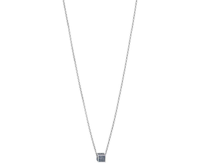 Calvin Klein Ocelový náhrdelník s krychličkou Rocking KJ9CAN040100