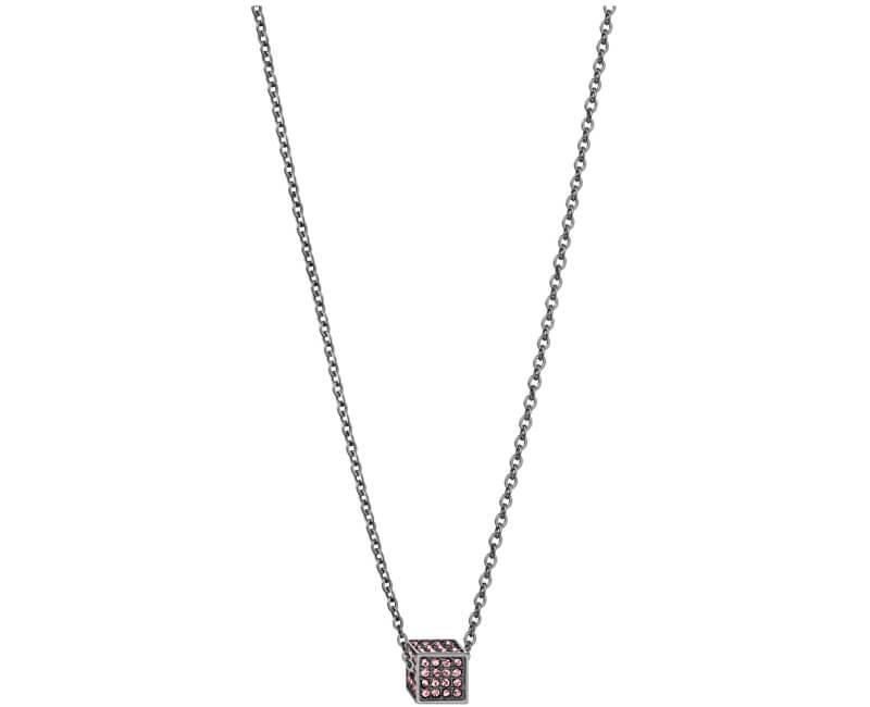 Calvin Klein Ocelový náhrdelník s krychličkou Rocking KJ9CVN140200