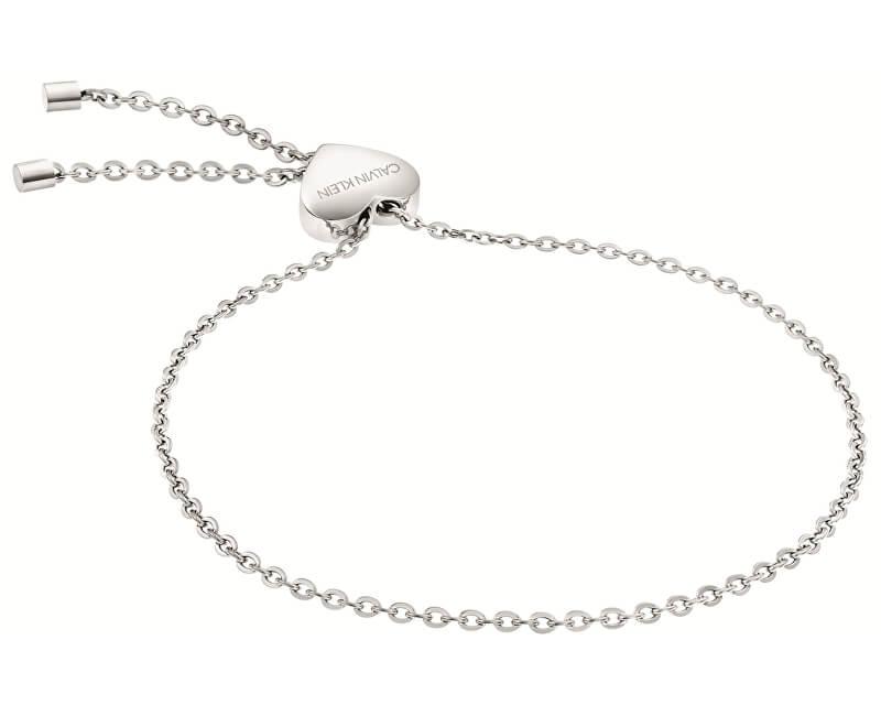 Calvin Klein Brățară din oțel cu inima KJ5QMB000200