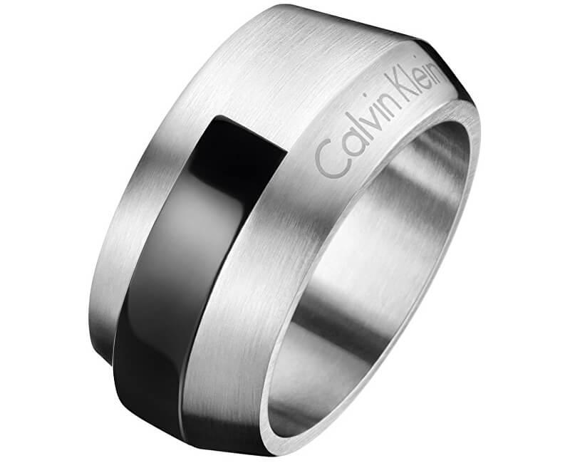Calvin Klein Ocelový pánský prsten Bump KJ4MBR2101