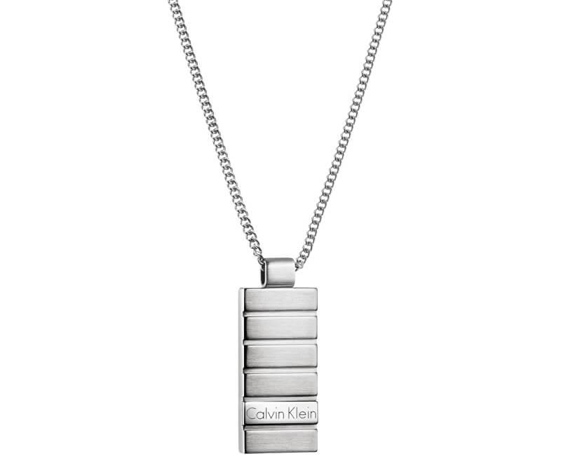 93741e97b9 Calvin Klein Pánsky náhrdelník Plate KJ5SMP080100