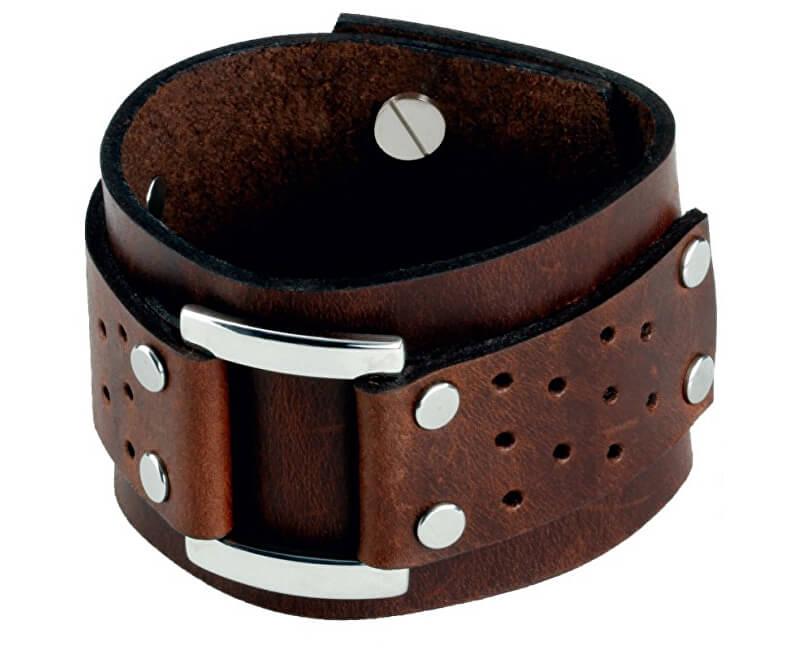 Cow Style Brățară din piele brună Vegas CS03-5020