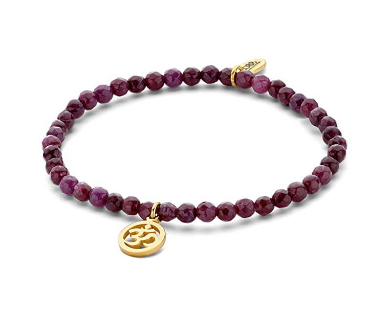 CO88 Purple jade brățară Óm 865-180-090166-0000