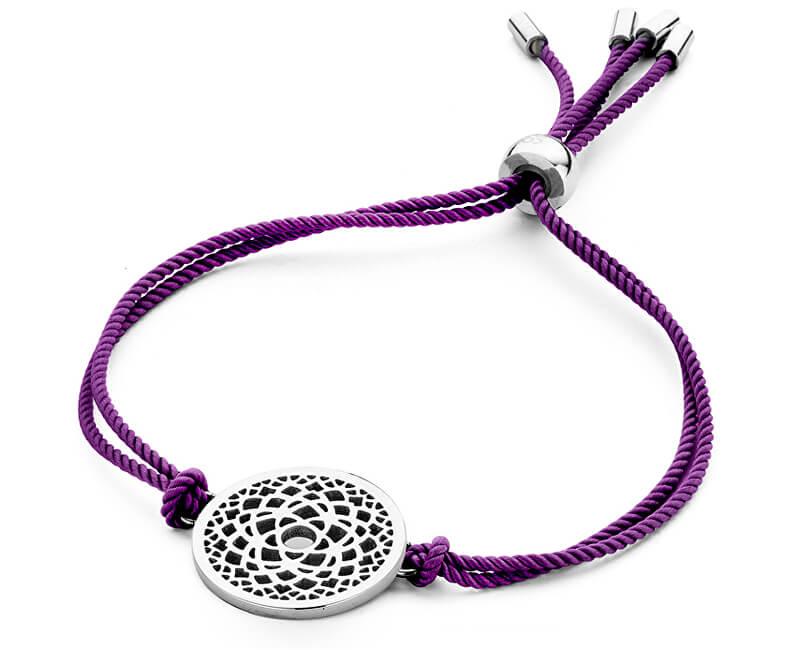 CO88 Purple brățară Chakra a șaptea coroană 860-180-090208-0000