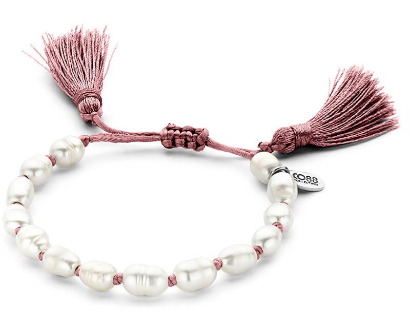 CO88 Brațară din perle autentice 865-180-090113-0000