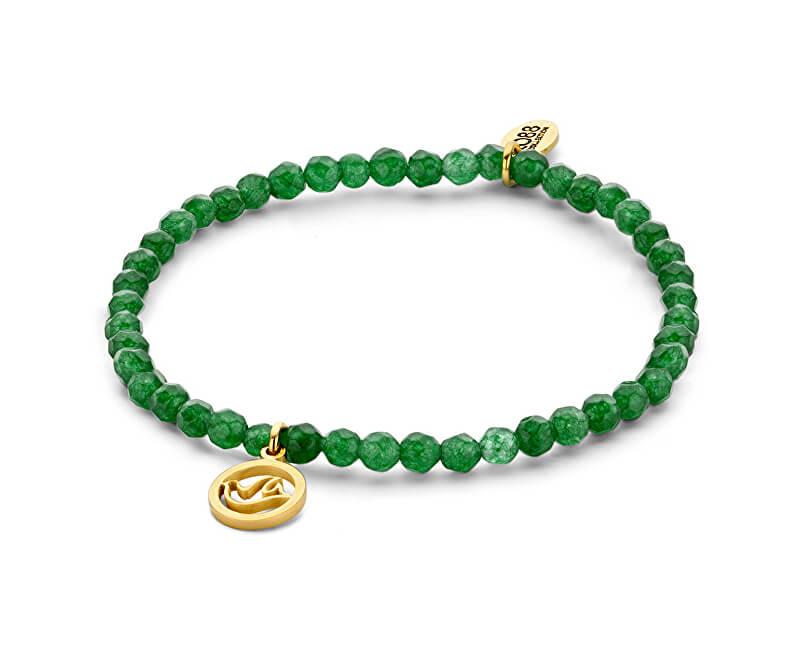 CO88 Brățară verde jad cu porumbel 865-180-090169-0000