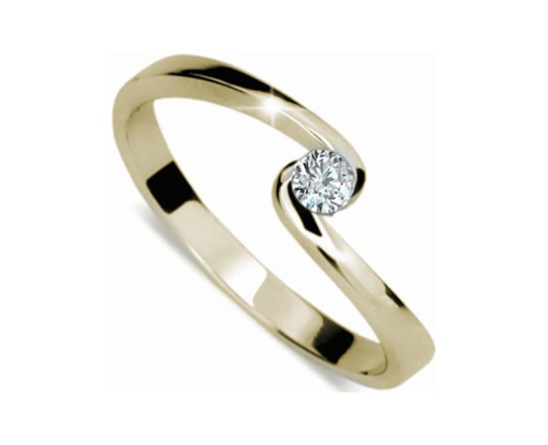 Danfil Jemný zásnubní prsten DF1934z