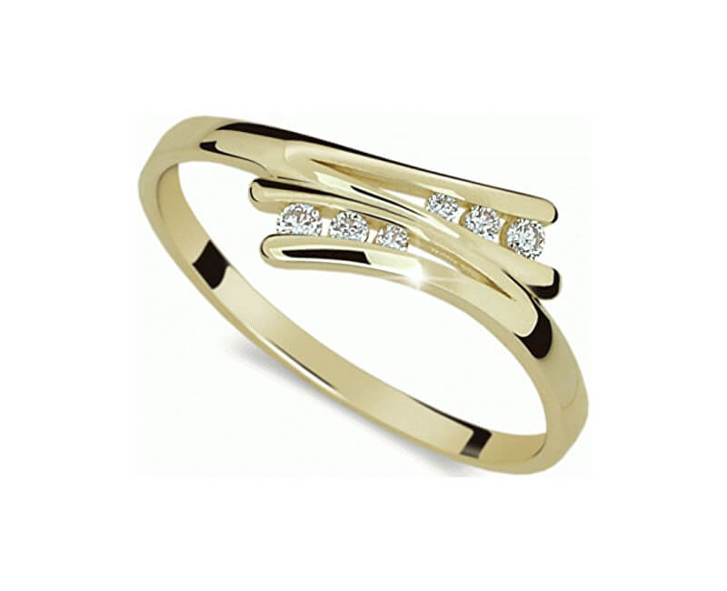 Danfil Inel delicat cu diamante DF1950z