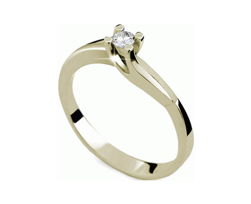 Danfil Inel de logodnă luxos cu diamant DF1854z