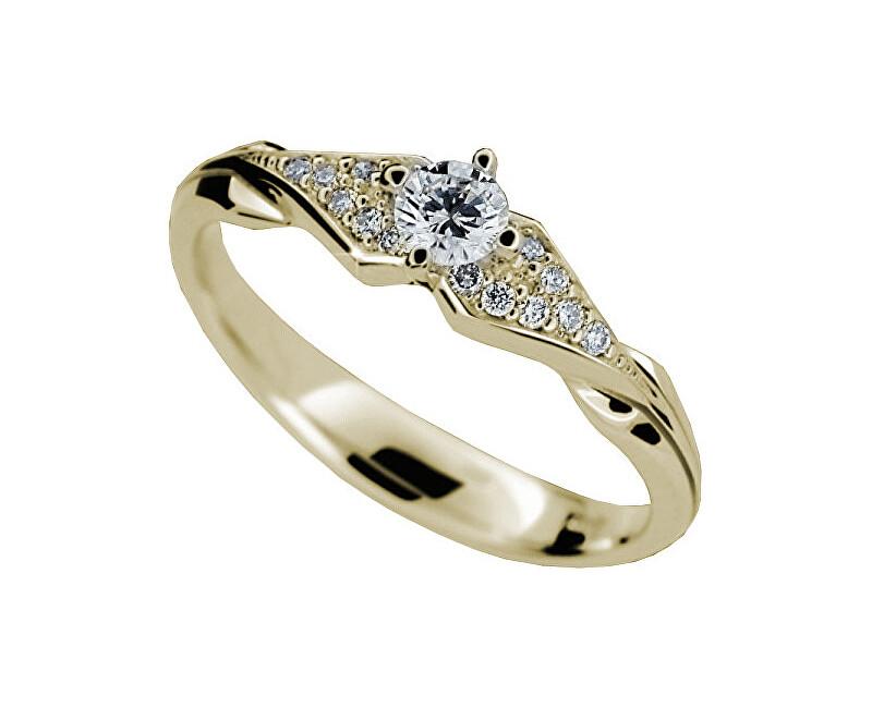 76d04ccbd Danfil Luxusné zásnubný prsteň s diamantmi DF2104z Doprava ZDARMA ...