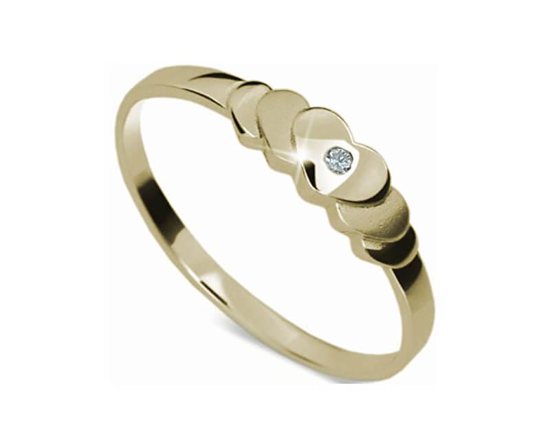 Danfil Romantický zásnubní prsten DF1876z