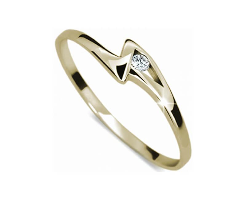 Danfil Zásnubní prsten s diamantem DF1138z