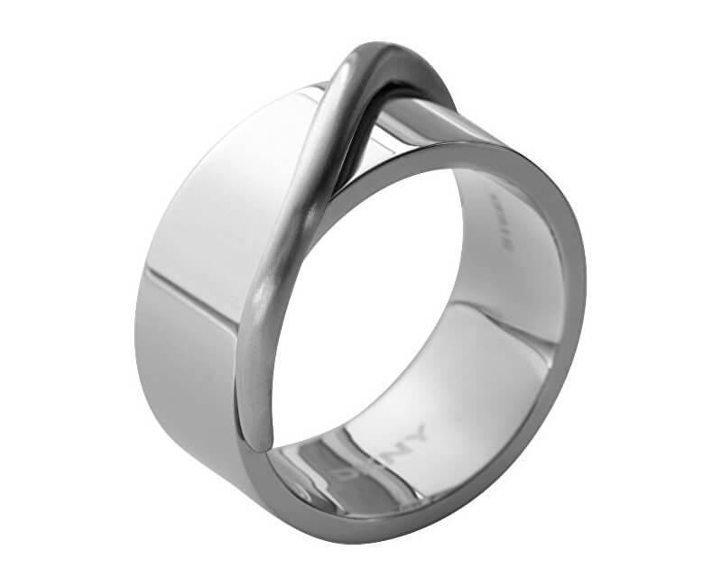 DKNY Masívní ocelový prsten NJ1860040