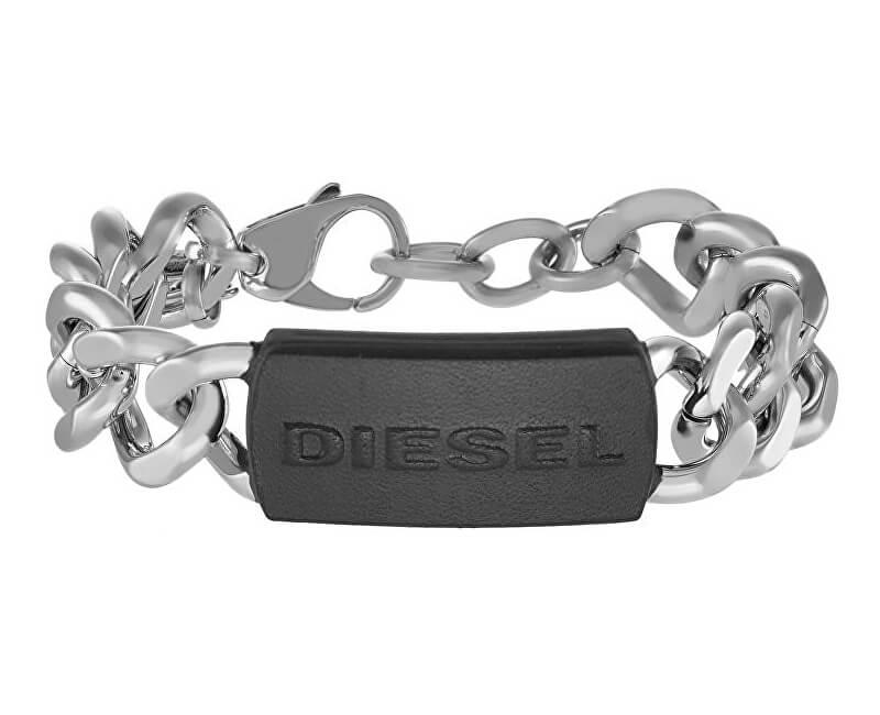 Diesel Masívny oceľový náramok pre mužov DX1010040 Doprava ZDARMA ... 3d99cf2c1bb