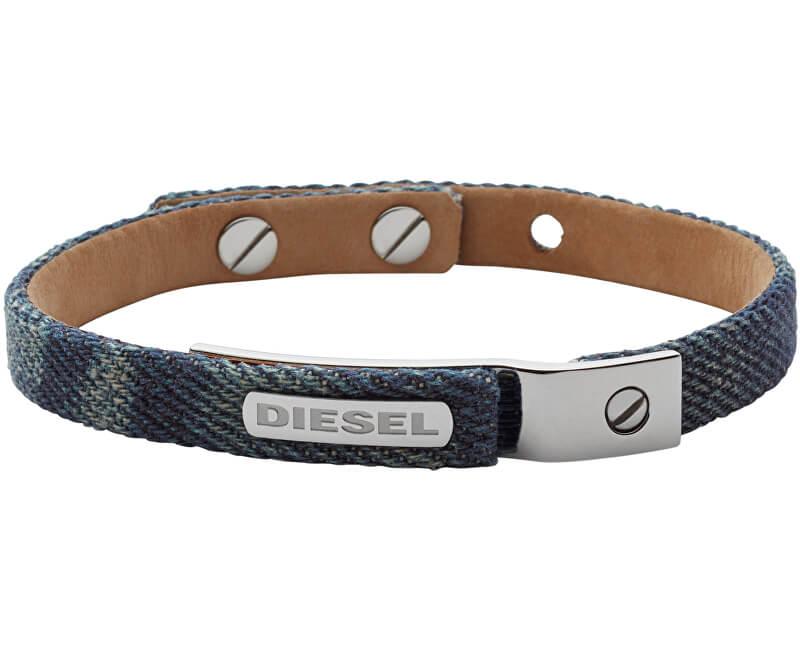 Diesel Brățară denimă pentru bărbați DX0974040