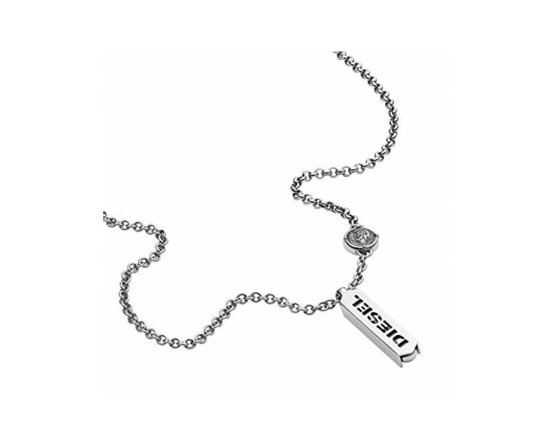 Diesel Pánský náhrdelník z oceli DX0997040 Doprava ZDARMA  7ea0479121