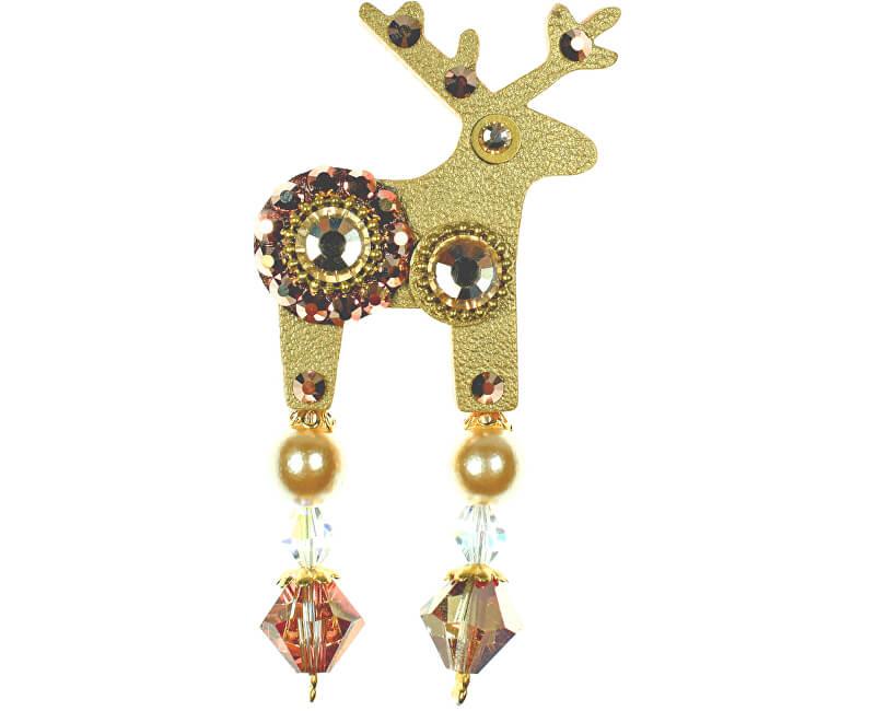 Deers Cerb mic auriu Goldie