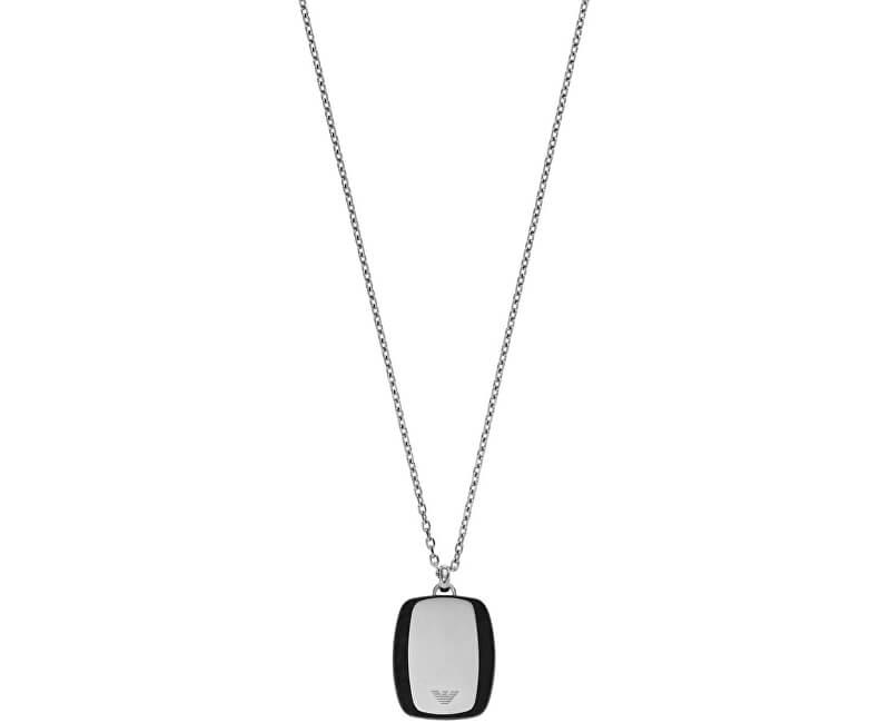 Emporio Armani Lanț din oțel pentru bărbați EGS2187040