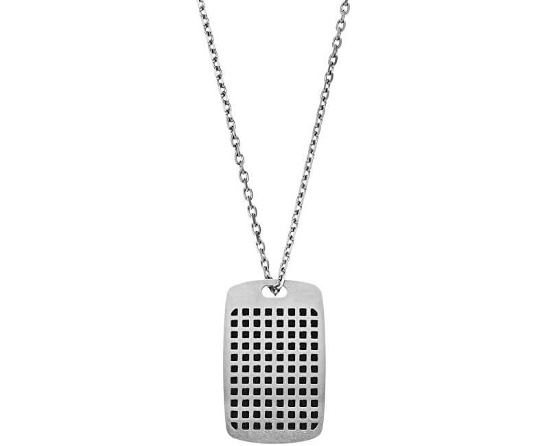 Emporio Armani Colier din oțel pentru bărbați EGS2116040