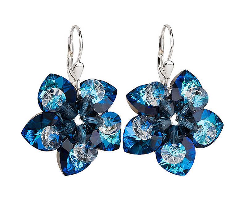 3f7c590fd Evolution Group Náušnice kvety 31130.5 bermuda blue | Vivantis.sk ...