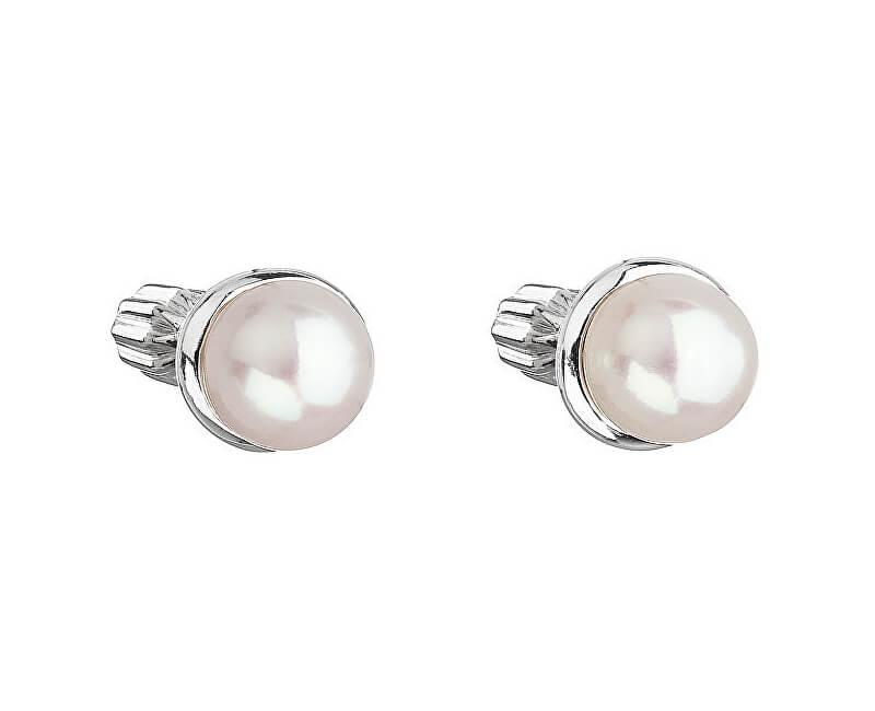 Evolution Group Stříbrné náušnice s perlou Pavona 21003.1  4b90bff4a2e