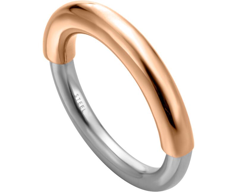 Esprit Elegantní bicolor prsten Tint ESRG003223