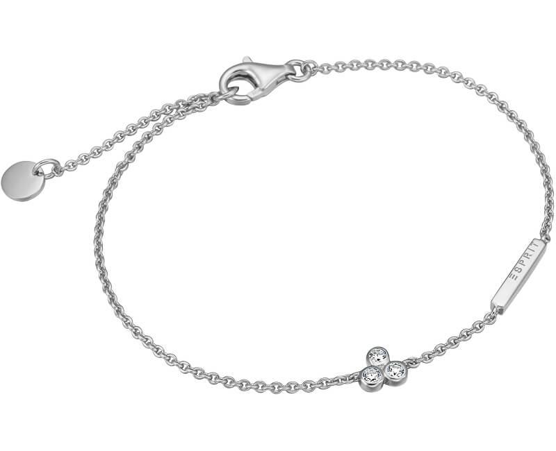 Esprit Stříbrný náramek se zirkony Play ESBR00191118