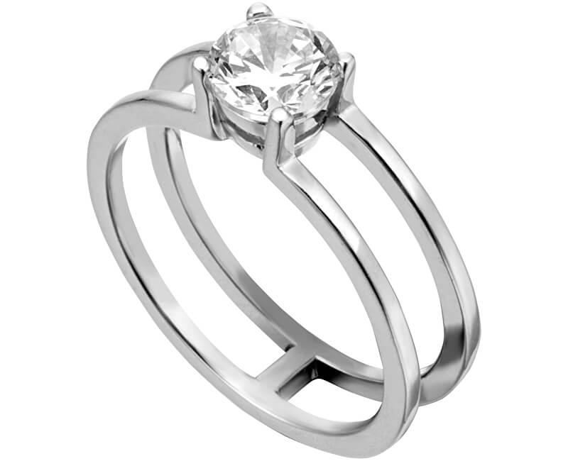 Esprit Stříbrný prsten se zirkonem ESRG0010111