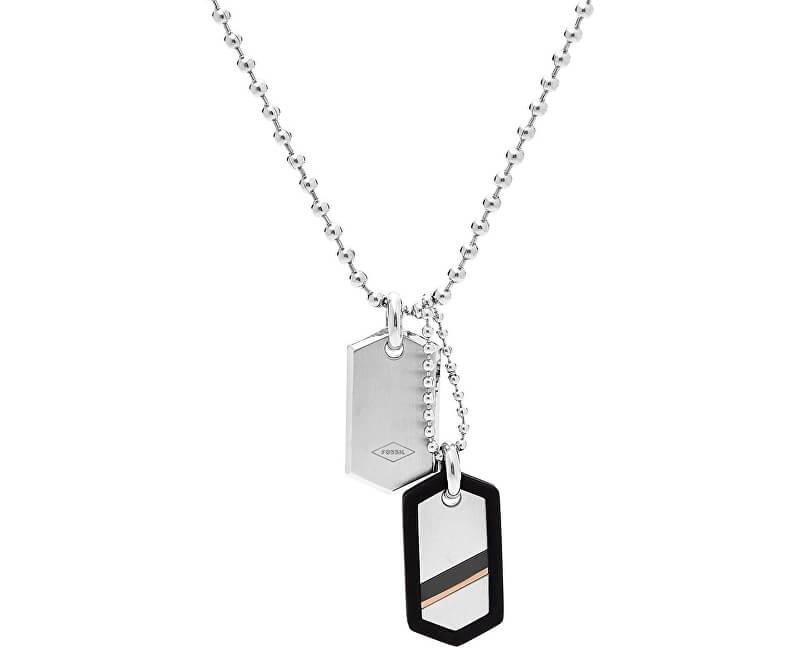 Fossil Pánský ocelový náhrdelník JF02824040