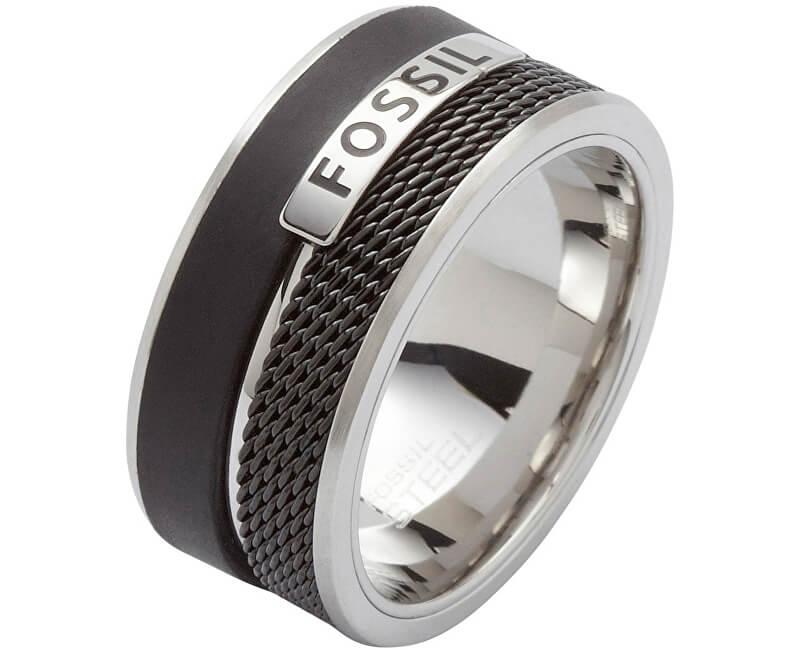 Fossil Pánský ocelový prsten JF86390040