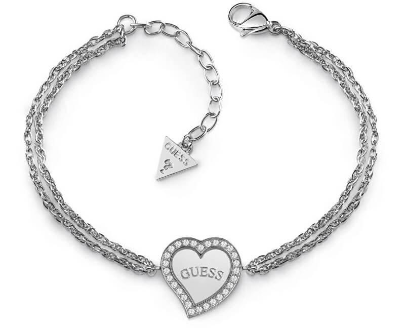 Guess Bratara pentru femei cu inima UBB78096-S