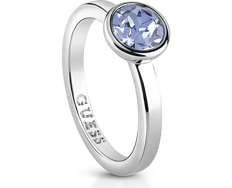Guess Inel de damă cu cristal UBR83020