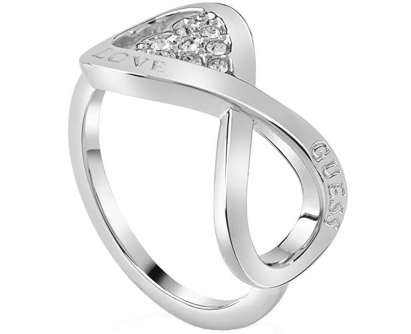 Guess Elegant inel de iubire fără sfârșit UBR85004