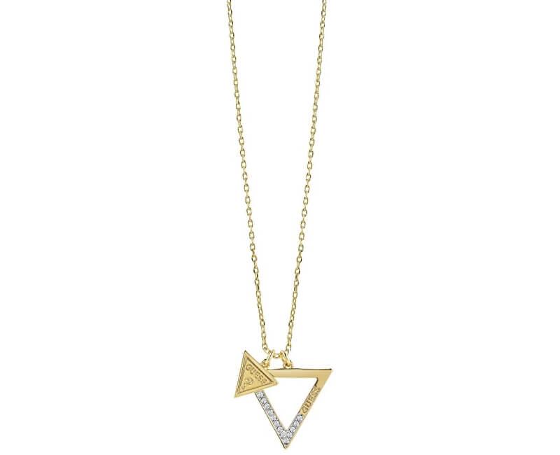 Guess Fashion pozlacený náhrdelník UBN83091