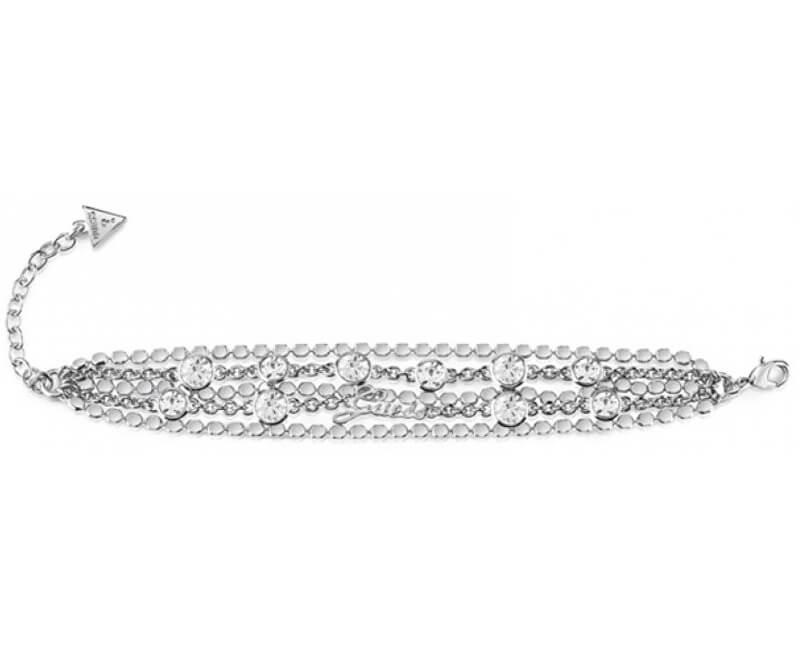 d271b5a0d Guess Luxusní náramek s krystaly UBB84130-S Doprava ZDARMA ...