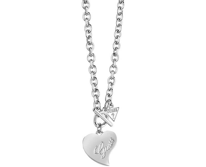 b75a24d51 Masszív nyaklánc szív medállal UBN71539